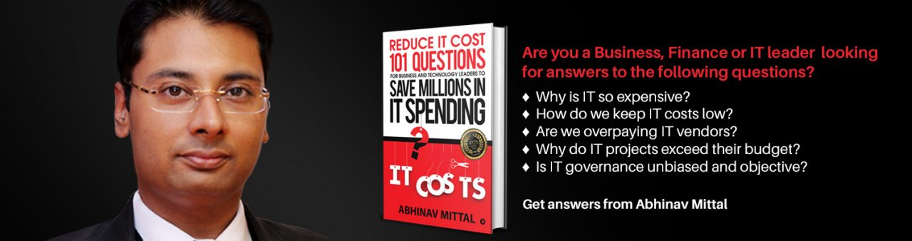 Reduce IT cost - Abhinav Mittal