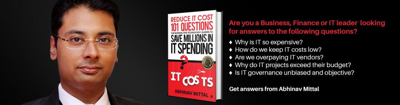 Reduce IT cost - Abhinav Mittal